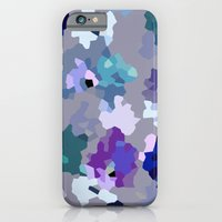 Crystallized Orchid iPhone 6 Slim Case