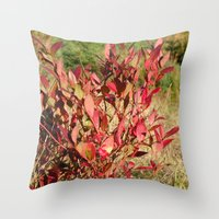 Plants On The Powerlines Throw Pillow