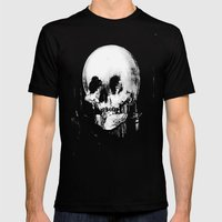 All Is Vanity: Halloween Life, Death, and Existence  Mens Fitted Tee Black SMALL