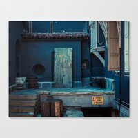 Stage Canvas Print