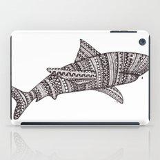 Patterned Shark iPad Case