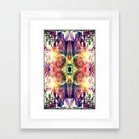 UPLIFTING EYE Framed Art Print