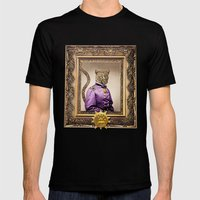 Grand Viceroy Leopold Leopard Mens Fitted Tee Black SMALL