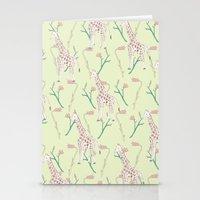 giraffe giraffe giraffe  Stationery Cards