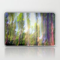 Sun shower in the Fairy Forest Laptop & iPad Skin