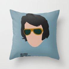 Rock Legends - Elvis Presley Throw Pillow