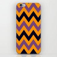 Halloween Chevron iPhone & iPod Skin