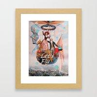 Let's Fly Framed Art Print