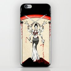 The Moment Of Silence iPhone & iPod Skin