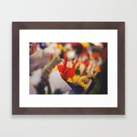 Bouquet Framed Art Print