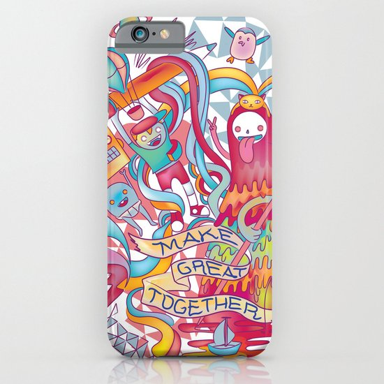 Together We're Awesome! iPhone & iPod Case