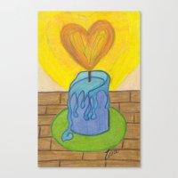 Burnin' Love Canvas Print