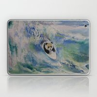 Panda Surfer Laptop & iPad Skin