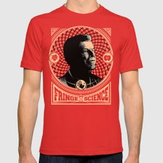 Walter Bishop - Fringe Science (RED) Mens Fitted Tee Red SMALL