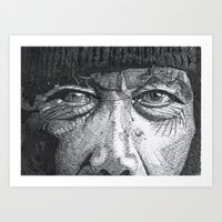 Homeless Man1 Art Print