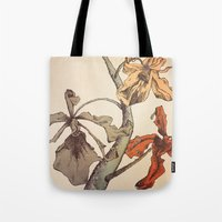 Hello Orchids Tote Bag