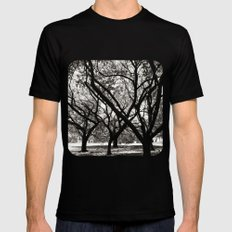 Trees of Harajuku  SMALL Mens Fitted Tee Black