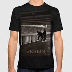 Autumnal Symphony of a Metropolis Mens Fitted Tee Tri-Black SMALL