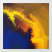Mystical Movement Canvas Print