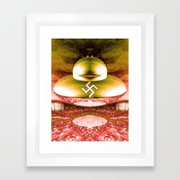 THULE SOCIETY Framed Art Print