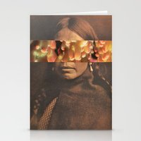 native Stationery Cards featuring Native by Djuno Tomsni