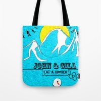 Jonh and Mayer Tote Bag