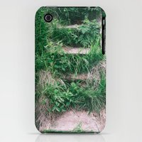 iPhone 3Gs & iPhone 3G Cases featuring Forgotten Stairs by Errne