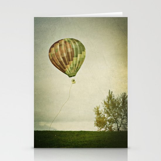 letting go Stationery Card
