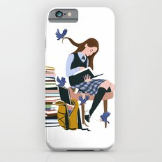 Dressed by Birds (White) iPhone 6 Slim Case