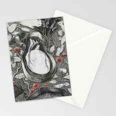 Heart-Shaped Box Stationery Cards