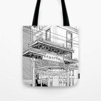 Nagasaki - China Town Tote Bag