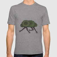 Creeping Shrubbery Mens Fitted Tee Athletic Grey SMALL