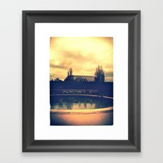 Denver Botanical Green House Framed Art Print