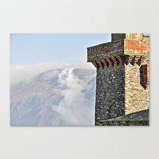 Fire on the hill Canvas Print
