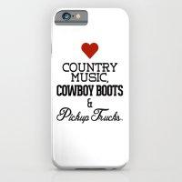 Love Country Music, Cowb… iPhone 6 Slim Case