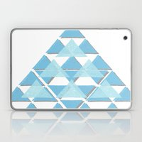 Blue Sky Mountain Laptop & iPad Skin