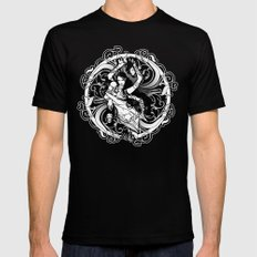 Kali Mens Fitted Tee SMALL Black