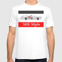 RennSport Speed Series: … Mens Fitted Tee White SMALL