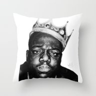 Throw Pillow featuring