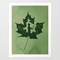 A New Leaf Art Print