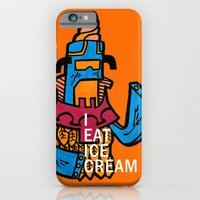 iPhone & iPod Case featuring Ice Cream Czar by certified-alberto