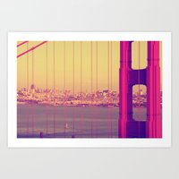Golden Gate Into San Fra… Art Print