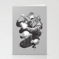 Space Symphony Stationery Cards
