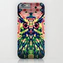 Psychedelic Owl iPhone & iPod Case