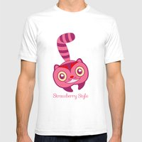 Cheshire Mens Fitted Tee White SMALL