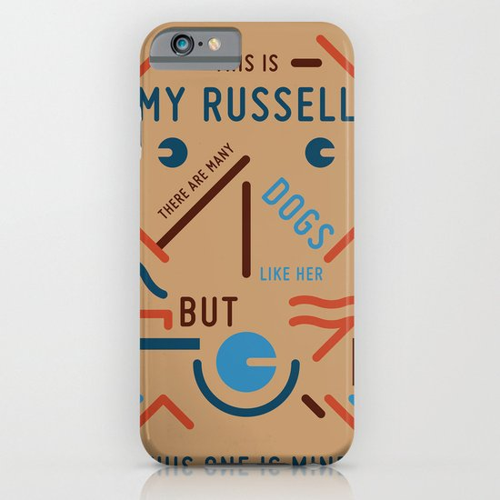 My Russell iPhone & iPod Case