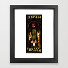 The Muse of Tragedy Framed Art Print
