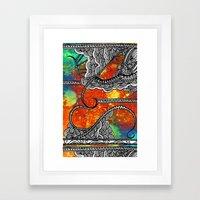 Mediterranea Framed Art Print