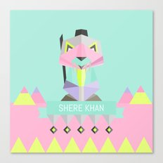 Our lovely pets -3 Shere Khan Canvas Print
