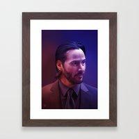 Man of Focus Framed Art Print